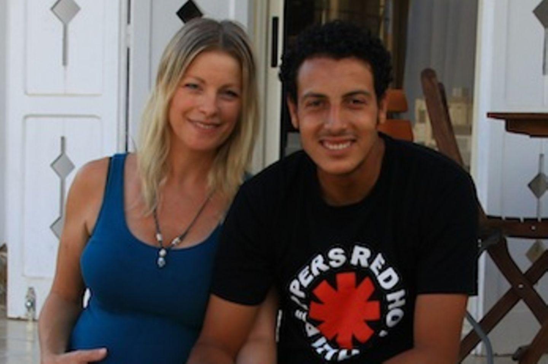 Anne Apitzsch und ihr Ehemann Mahmoud