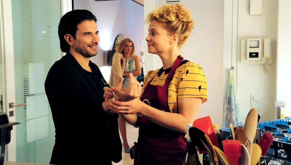 Marc Terenzi mit Annette Frier