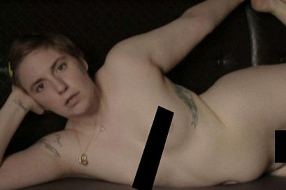 Lena Dunham: Nackt, wie Gott sie schuf