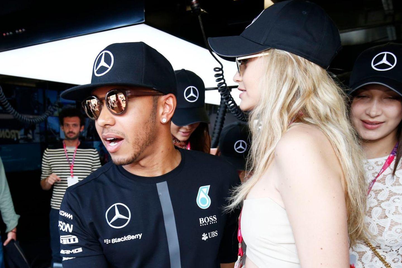Lewis Hamilton, Gigi Hadid