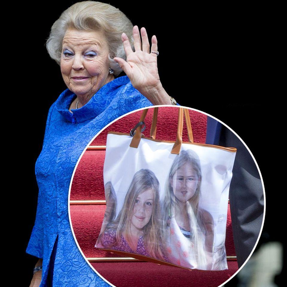 Prinzessin Beatrix + Co.: Peinliche Foto-Handtaschen