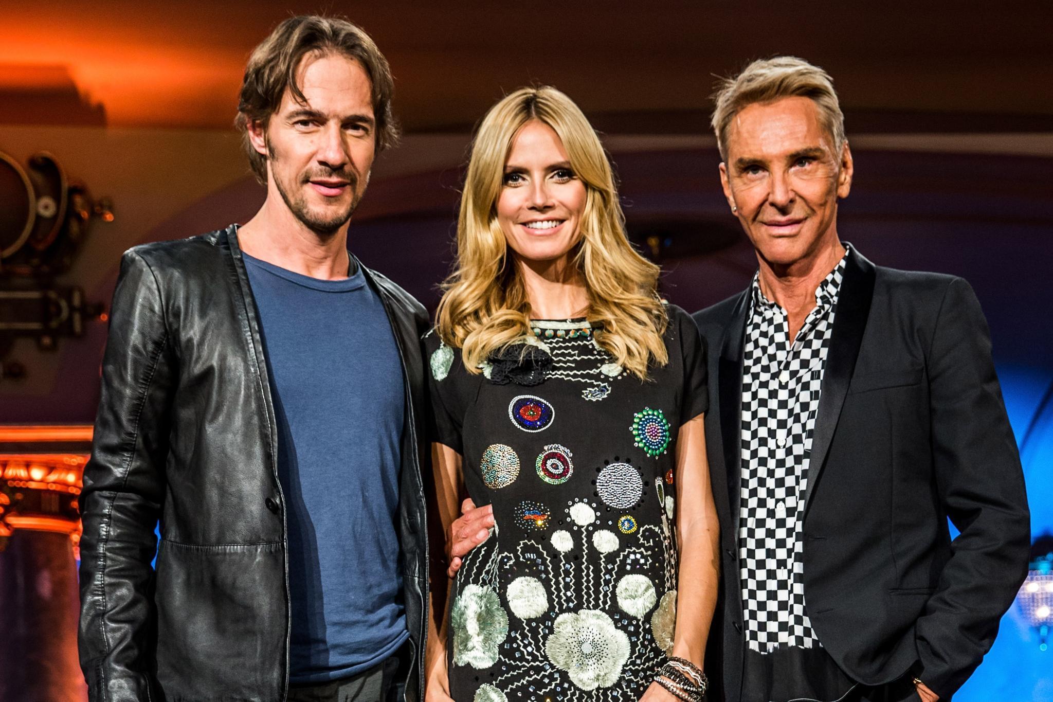 """Die Jury von """"Germany's Next Topmodel""""."""
