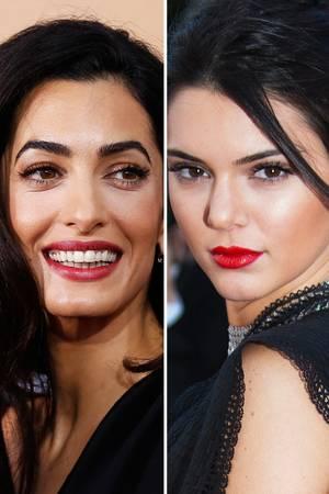 Amal Clooney, Kendall Jenner