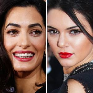Amal Clooney, Kendall Jenner