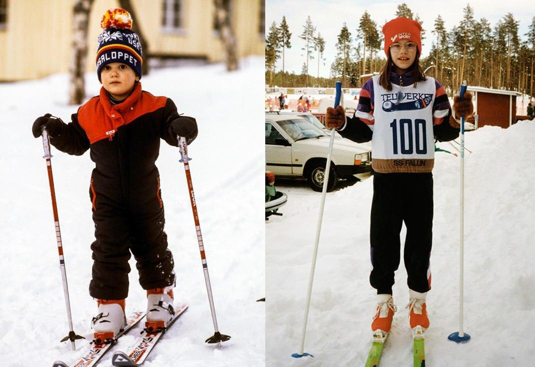 Schwedens künftiges Prinzenpaar verbindet der Spaß an sportlicher Betätigung - und das schon als Kinder.