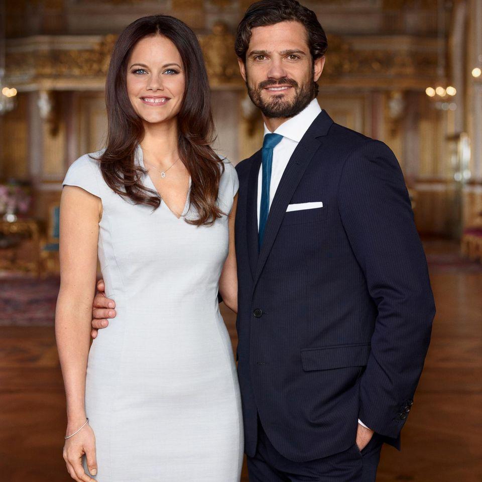 Sofia Hellqvist + Prinz Carl Philip