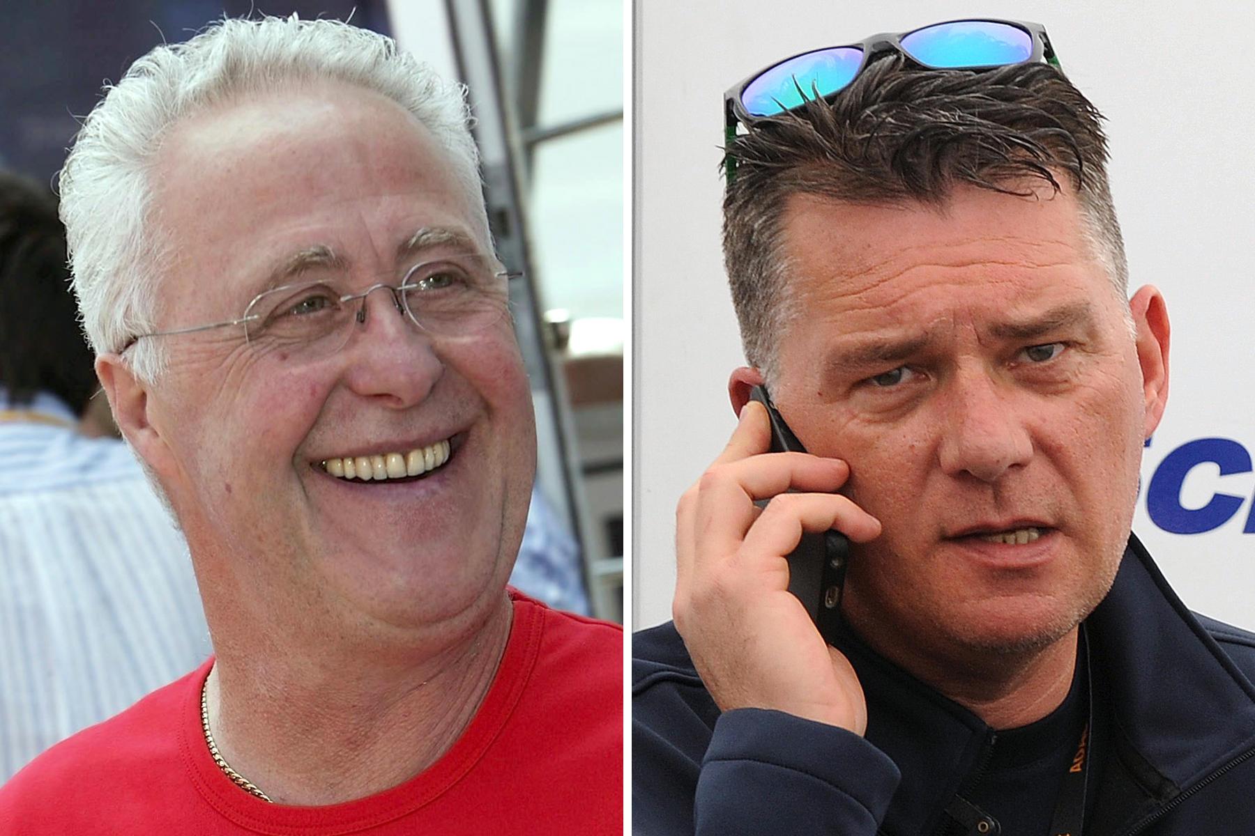 Die zwei Männer an Micks Seite: Opa Rolf (l.) und Peter Kaiser. Der langjährige Kumpel von Michael Schumacher ist einer der Betreuer von Mick.