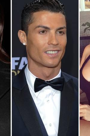 Cristiano Ronaldo, Irina Shayk, Daniella Chavez