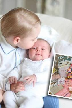 Prinz George mit Prinzessin Charlotte, Geschenke zur Geburt