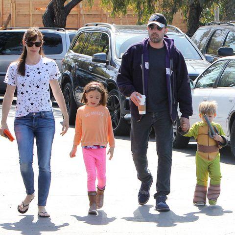 Jennifer Garner, Ben Affleck un die Kinder