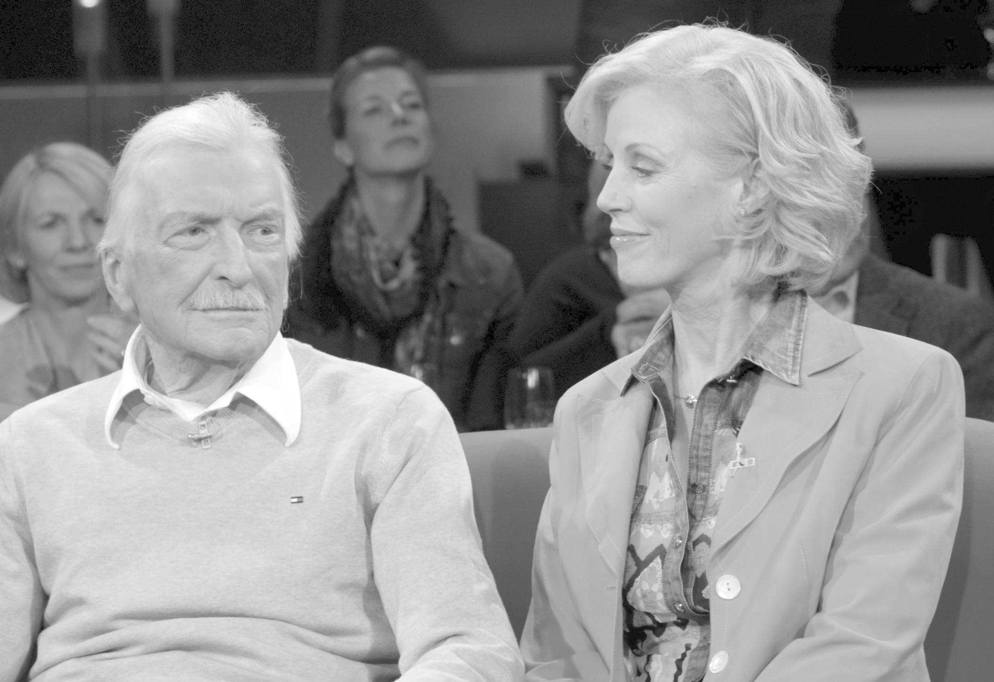 James Last mit seiner Ehefrau Christine