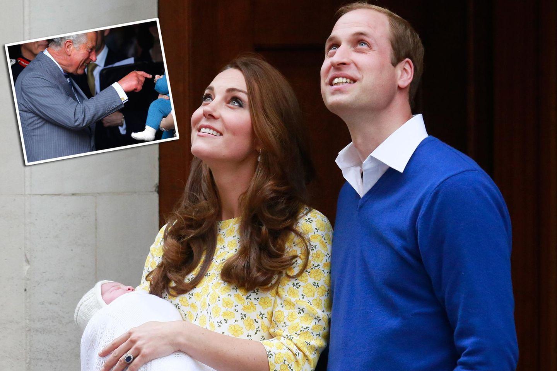 Prinz Charles, Prinzessin Charlotte, Herzogin Catherine, Prinz William