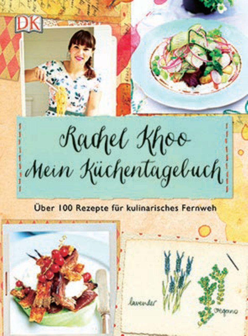 """Der dritte Streich der britischen Küchenfee Rachel Khoo ist ihr persönlichster: Mit Rezepten wie Puffreisfisch mit Minz-Erbsen-püree und Pistazien-Granatap¬fel-Kuchen serviert sie ihren gesammelten kulinarischen Mix der Kulturen und lässt uns ihre absoluten Favoriten kosten. (""""Rachel Khoo – Mein Küchentagebuch"""", Dorling Kindersley Verlag, 288 S., 24,95 Euro)"""