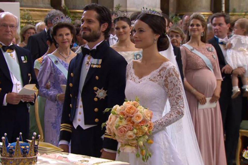 Trauung von Prinz Carl Philip und Sofia Hellqvist