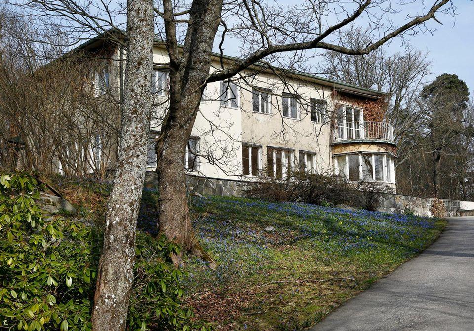 """Villa """"Solbacken"""" gehörte Prinz Bertil und Prinzessin Lilian. Prinz Carl Philip erbte sie von seinem Großonkel."""