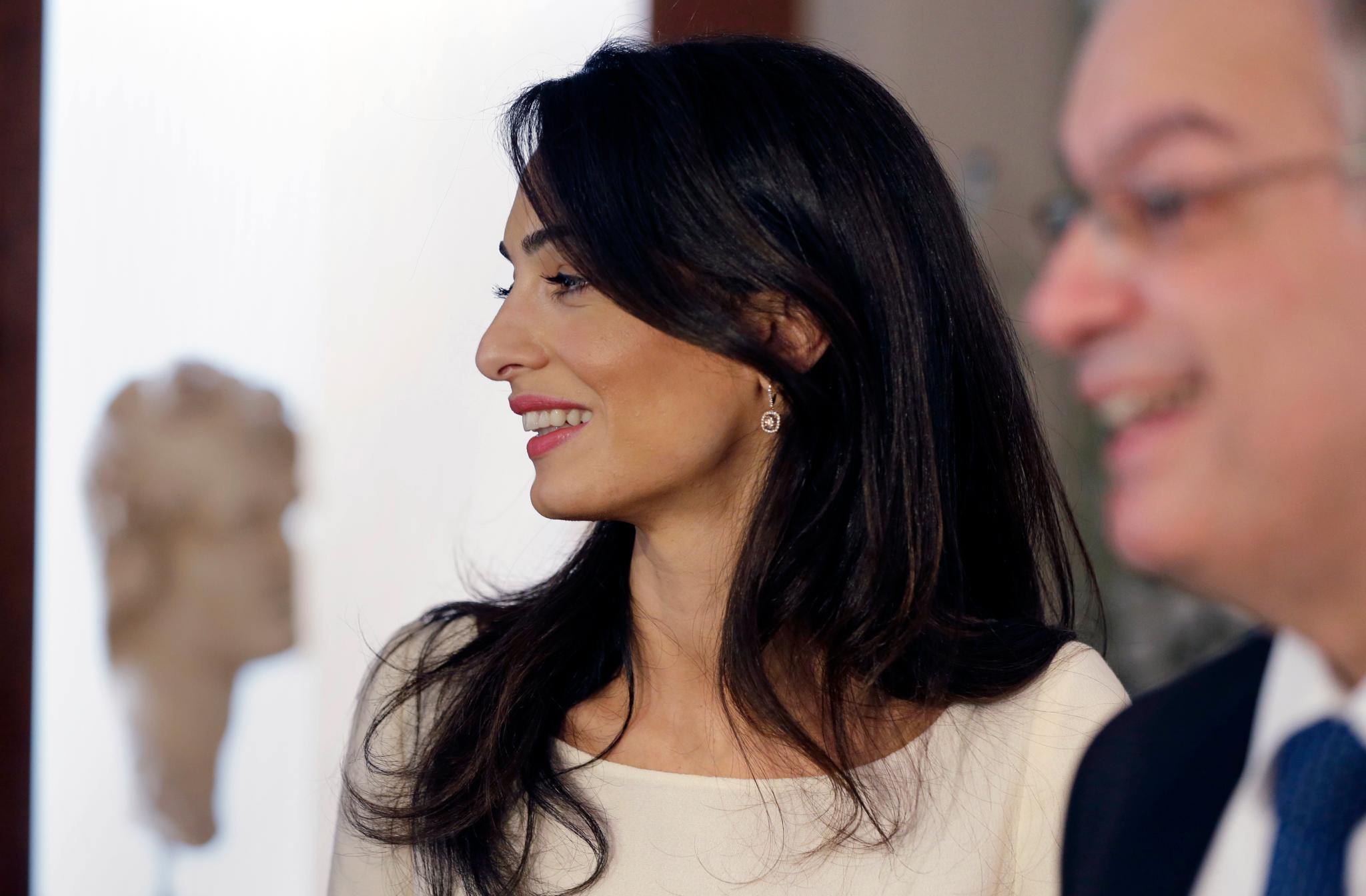 Amal Clooney Ungeschminkt