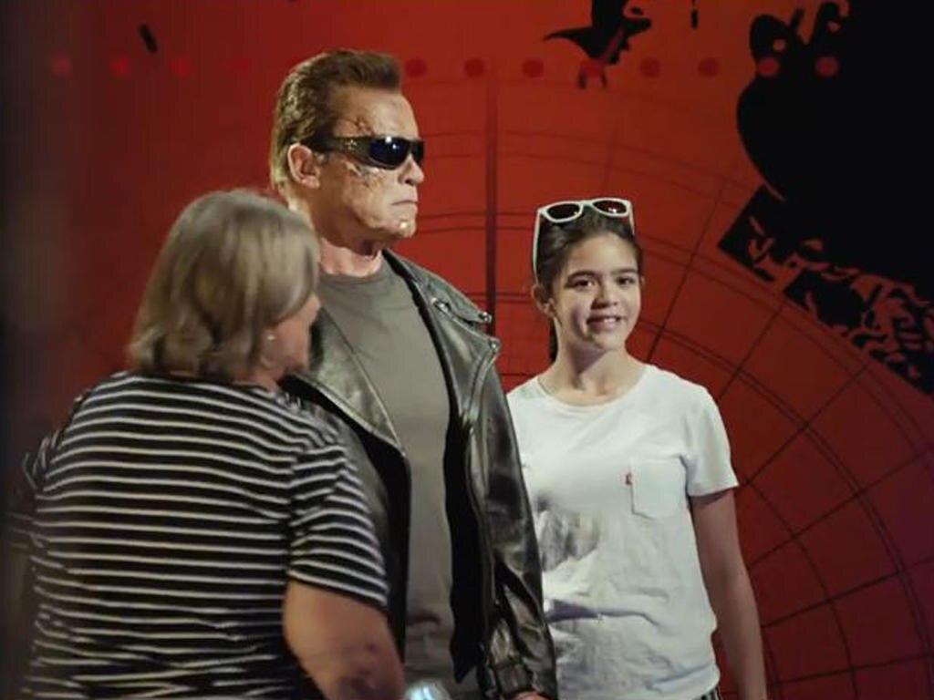 """Arnold Schwarzenegger im """"Madame Tussauds"""" in Los Angeles"""