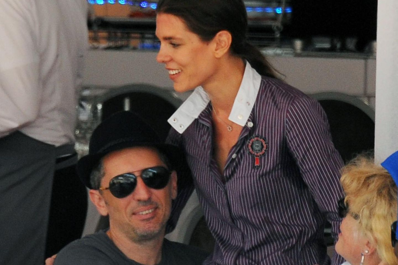 Charlotte Casiraghi und Gad Elmaleh