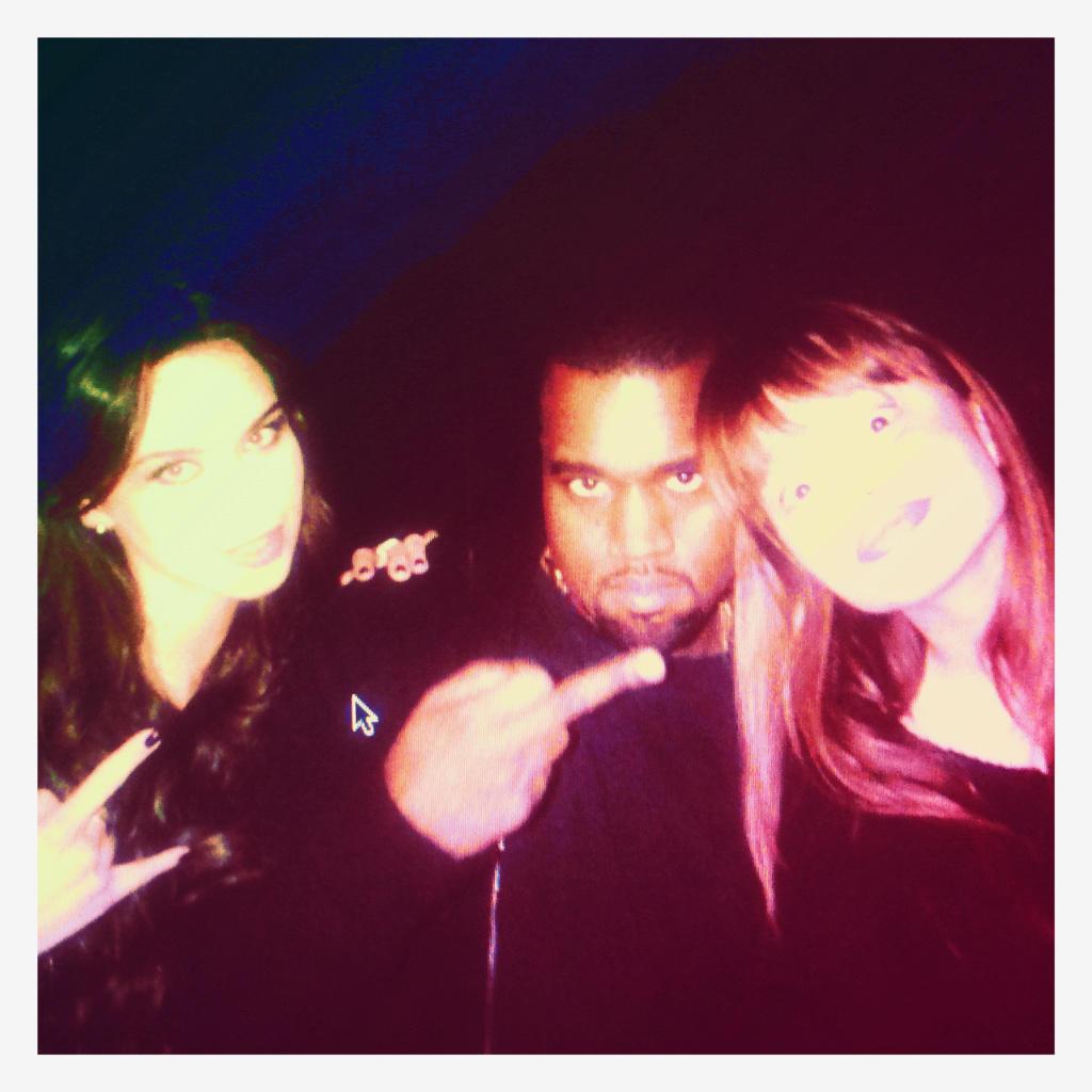 Liliana und Kanye West