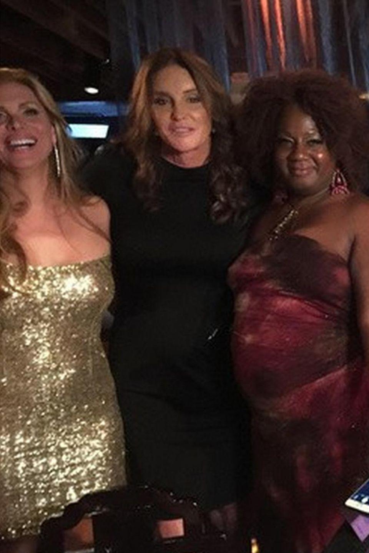 Caitlyn Jenner im Kreise ihrer Freundinnen