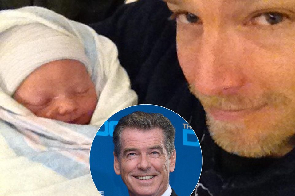 Pierce Brosnan, Sean Brosnan, Marley May Cassandra