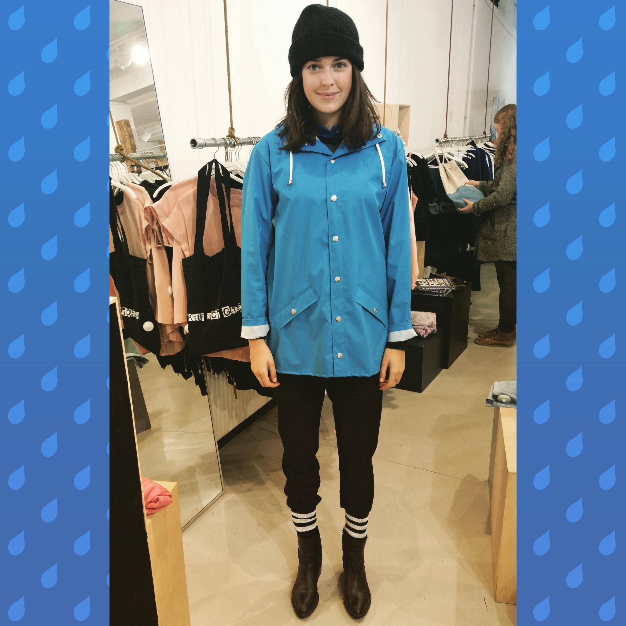 Das Erste, was Marie Nasemann gemacht hat, als sie von München nach Hamburg gezogen ist? Eine Regenjacke gekauft.