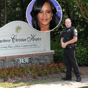 Bobbi Kristina Brown: Sieben Polizeiautos beim Hospiz