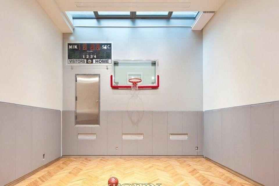 Hier könnten Heidi Klums Kinder ganz in Ruhe Basketball spielen, ohne von Paparazzi belagert zu werden.