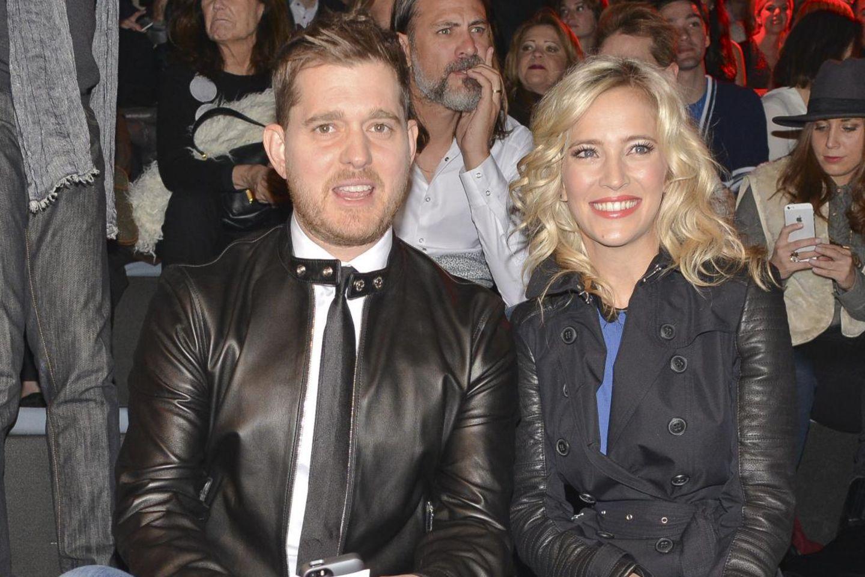 Michael Bublé und seine Frau Luisana Lopilato.