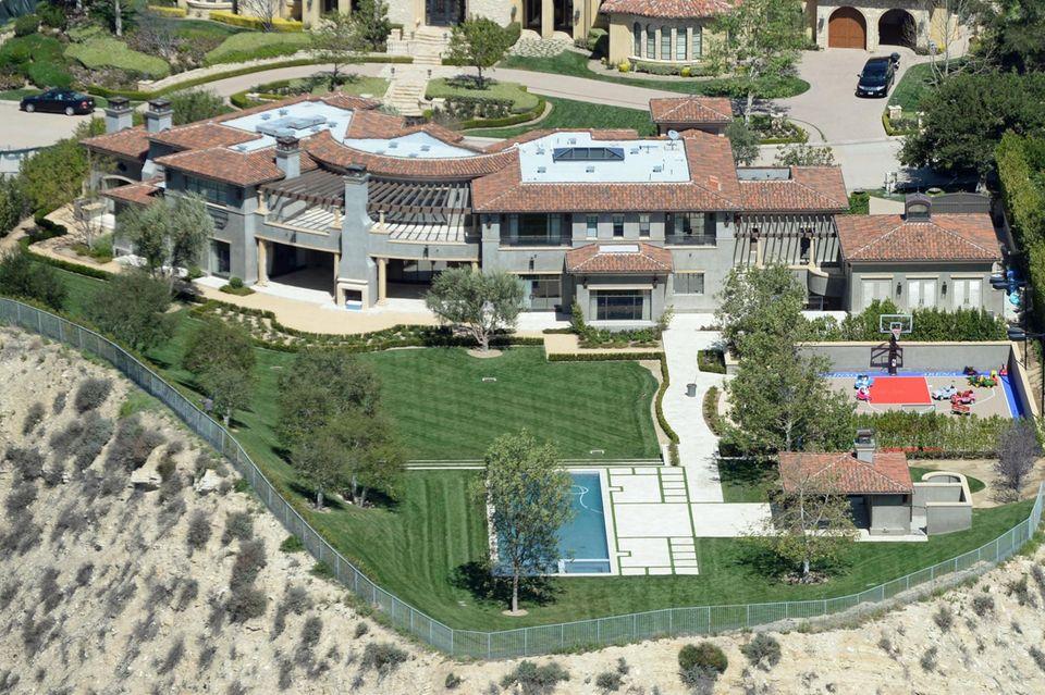 Kourtney Kardashians und Scott Disicks 8-Millionen-Dollar-Haus in Calabasas