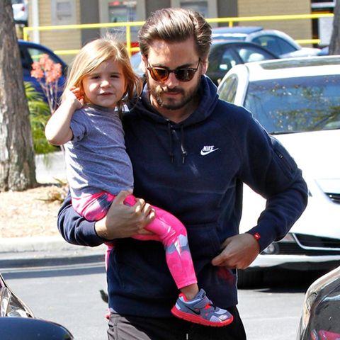 Scott Disick mit Tochter Penelope