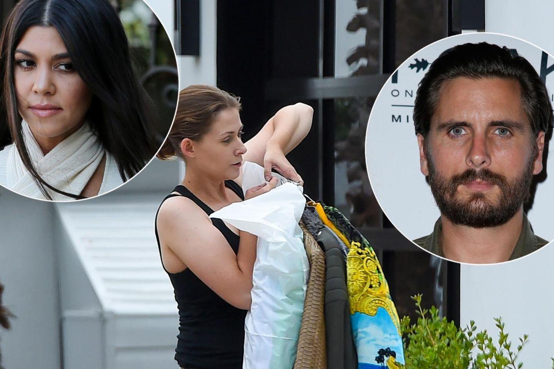 Kourtney Kardashian lässt Scott Disicks Habseligkeiten aus ihrem Haus entfernen.