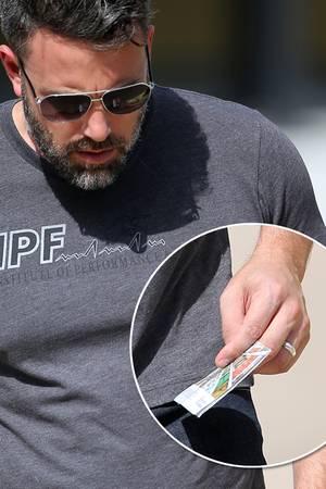 Ben Affleck: Er trägt seinen Ehering wieder