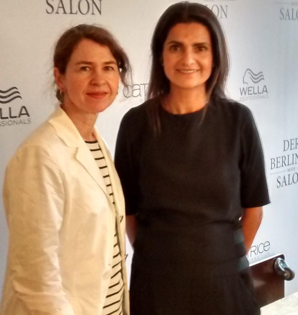 GALA.de Redakteurin Steph und Designerin Leyla Piedayesh