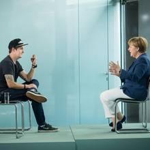 Angela Merkel: #AngelaMerkel zu Gast bei LeFloid