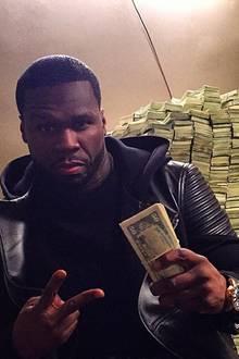 50 Cent zeigt gerne was er hat