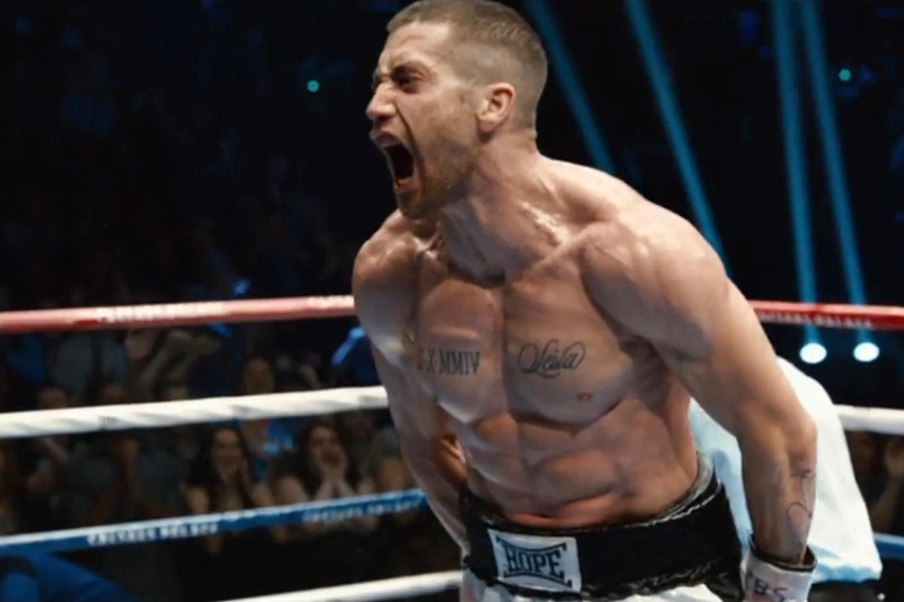 Härter geht's kaum: Hollywoodstar Jake Gyllenhaal hat seinem Körper Einiges für die Rolle als Boxkämpfer Billy Hope zugemutet und damit seinen Körper extrem verändert.