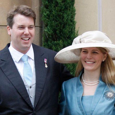 Hubertus Erbprinz von Sachsen-Coburg und Gotha und seine Frau, Erbprinzessin Kelly