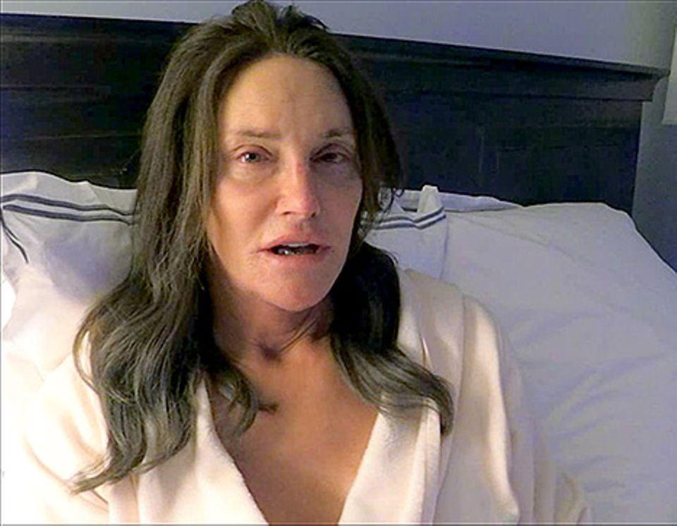 Caitlyn Jenner: 1. Foto: So sieht sie ungeschminkt aus