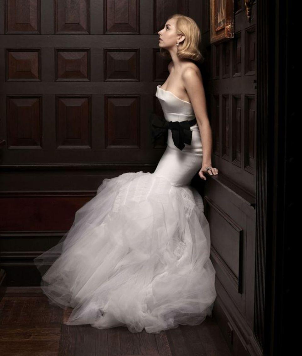 Fürst Alberts Tochter Jazmin Grace Grimald präsentiert sich in einer typischen Pose von Grace Kelly.