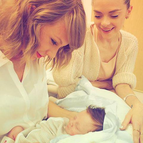 Taylor Swift, Jaime King und Leo Thames