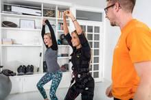 GALA-Redakteurin Janina Kirsch durfte Sylvie Meis zum Workout begleiten.