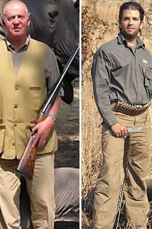 Juan Carlos + Donald Trump Jr.