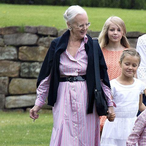 Königin Margrethe + Prinzessin Isabella