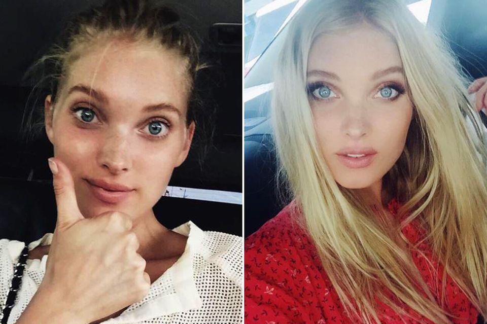 Ob ungeschminkt oder mit Smokey Eyes: Elsa Hosk hat es mit ihrem markanten Gesicht und dem Traumkörper in den Model-Olymp geschafft.
