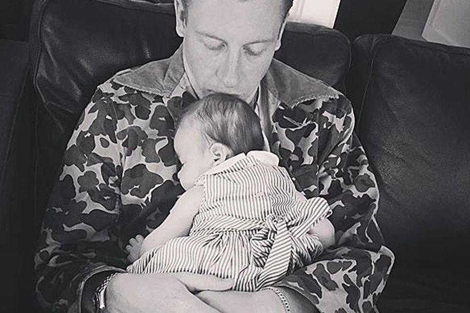Macklemore mit seiner Tochter Sloane