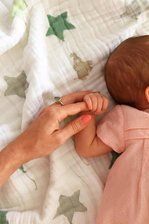 Johanna Klum und Baby