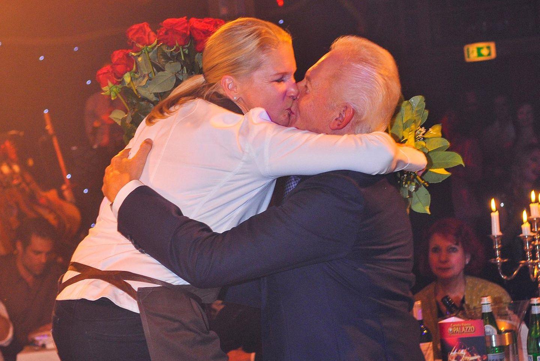 Cornelia Poletto, Rüdiger Grube (im November 2014)