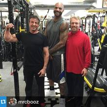 Celebrity Fitness Trainer Gunnar Peterson, Sylvester Stallone, Carlos Boozer