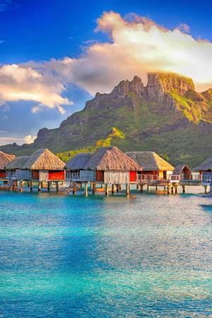 Das Four Seasons auf Bora Bora